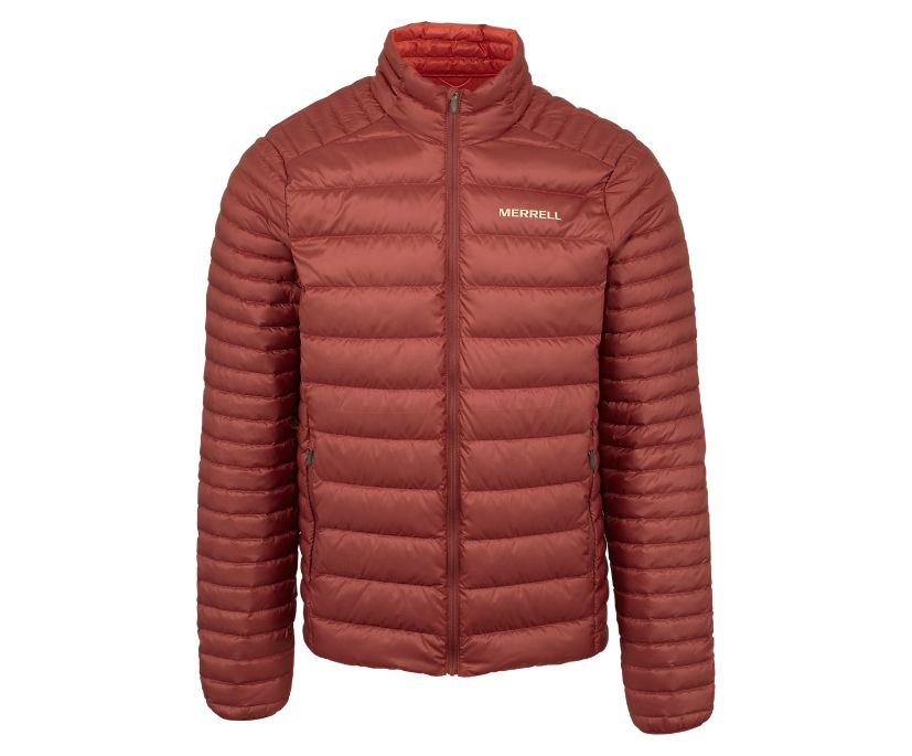 Ridgevent Thermo Jacket, Brick, dynamic