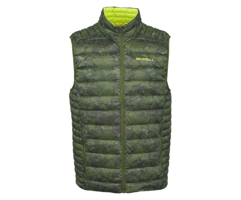 Ridgevent™ Thermo Vest, Chive Watercolor, dynamic
