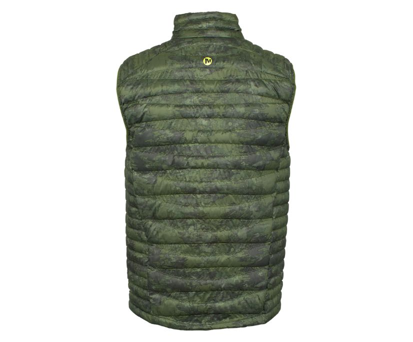 Ridgevent Thermo Vest, Chive Watercolor, dynamic