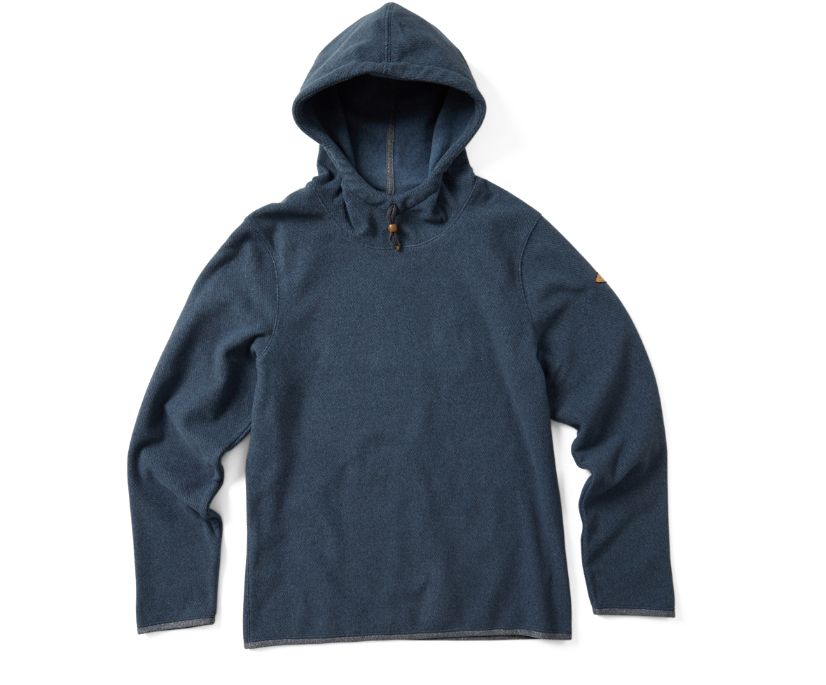 Trailhead Twill Pullover Hoody, Bering Sea, dynamic