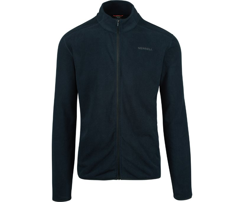 Flux Lightweight Full Zip, Black, dynamic