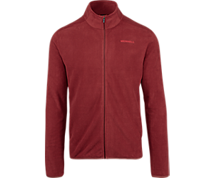 Flux Lightweight Full Zip, Syrah, dynamic