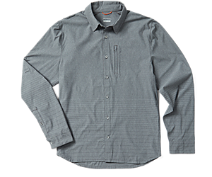Sanford Long Sleeve Button Down, High Rise, dynamic