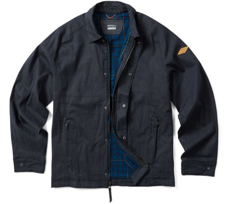 Trailhead Huron Jacket, Black Heather, dynamic