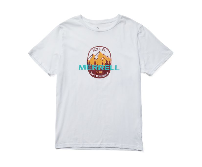 Pack It Out Tee, White, dynamic