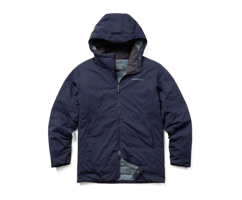 Whisper Rain Insulated Jacket, Navy, dynamic