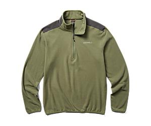 Terrain 1/4 Zip Fleece, Lichen, dynamic