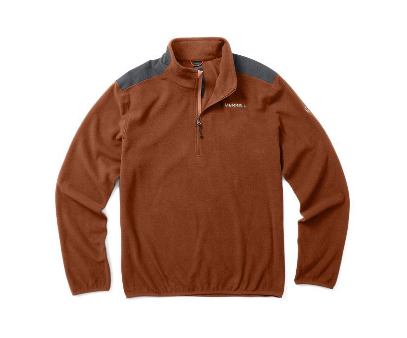 Terrain 1/4 Zip Fleece, Burnish, dynamic