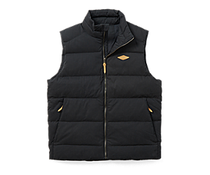 Terrain Cotton Vest, Black, dynamic