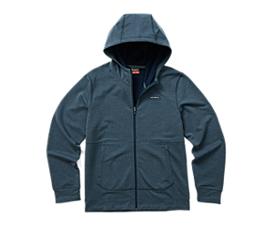 Timber Full Zip Hoody, Navy Heather, dynamic