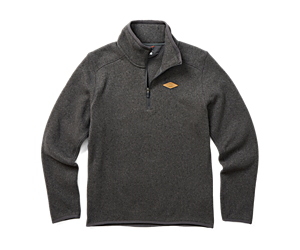 Sweater Weather 1/4 Zip, Asphalt Heather, dynamic