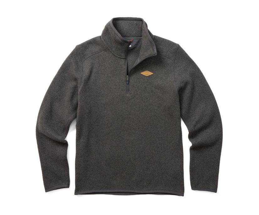 Sweater Weather 1/4 Zip, Asphalt Heather, dynamic