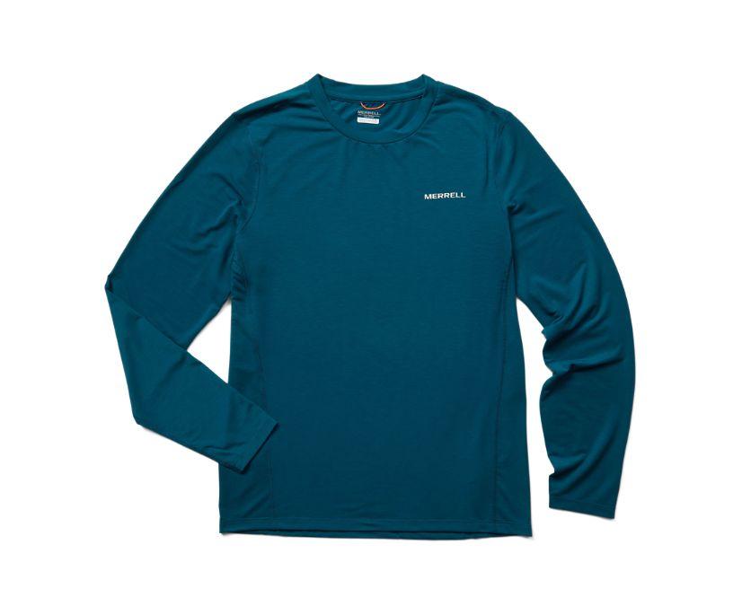 Tencel™ Long Sleeve Tee, Polar, dynamic