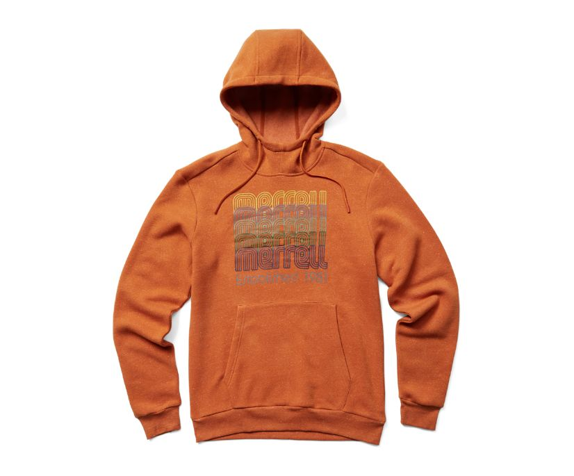 Vintage Merrell Repeat Pullover Hoody, Burnish Heather, dynamic