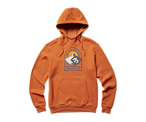 Sunset Mountain Pullover Hoodie, Burnish Heather, dynamic