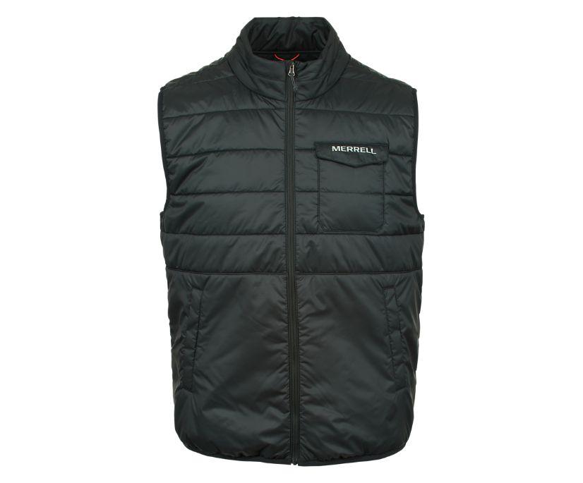 Terrain Insulated Vest, Black, dynamic
