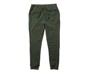 Fleece Jogger, Forest Heather, dynamic