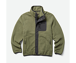 Ko-Dou Sherpa Fleece Full Zip, Lichen, dynamic