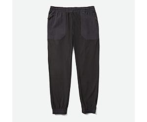 Kai-Dou Fleece Pant, Black, dynamic