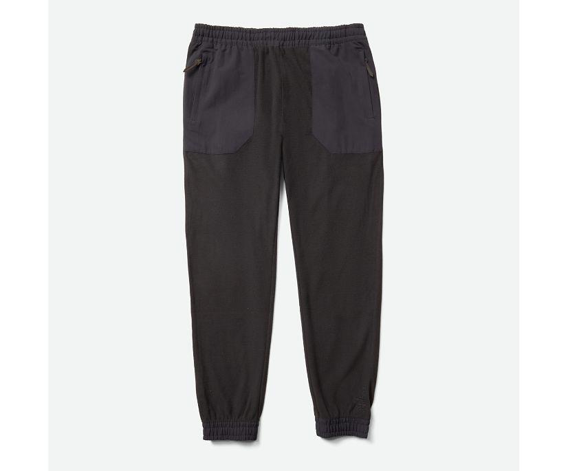 M Kai-Dou Fleece Pant, Black, dynamic