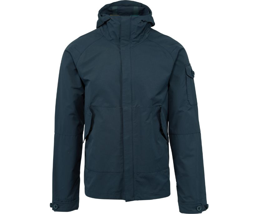 Trailhead Canvas Jacket, Navy, dynamic
