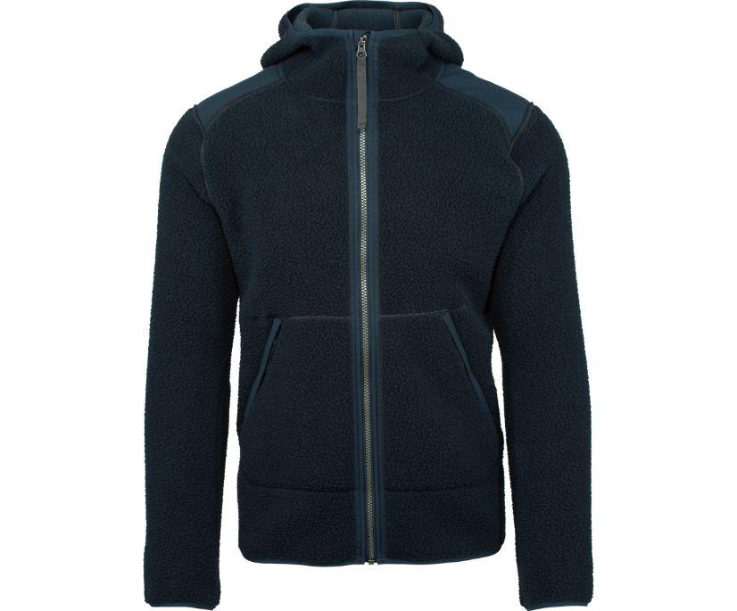 Flux Heavy Weight Sherpa Fleece, Navy, dynamic