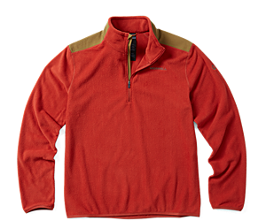 Flux Lightweight Hybrid 1/4 Zip, Bossa Nova, dynamic