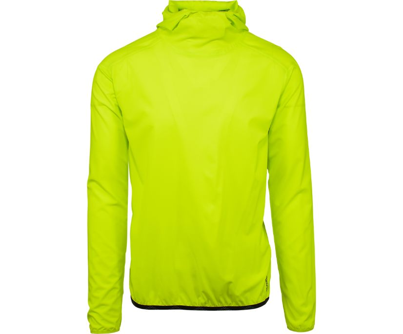 Ultralite Wind Shell Jacket, Lime Punch, dynamic