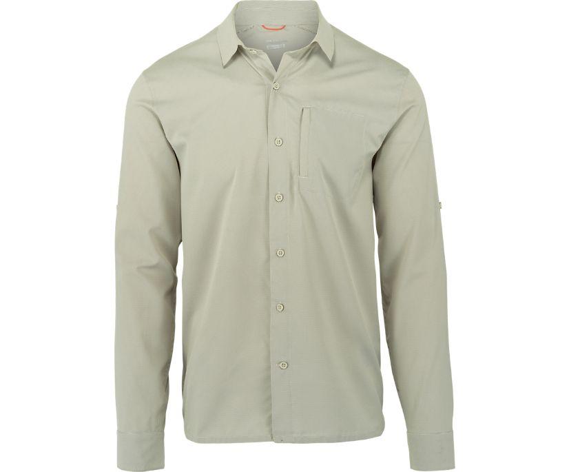 Colville Long Sleeve Sun Shirt, Silver Lining Stripe, dynamic