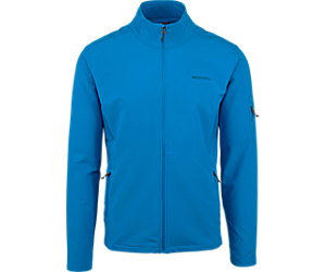 Quest Softshell Jacket, Imperial Blue, dynamic