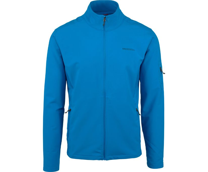 Quest Softshell Jacket, Imperial Blue, dynamic