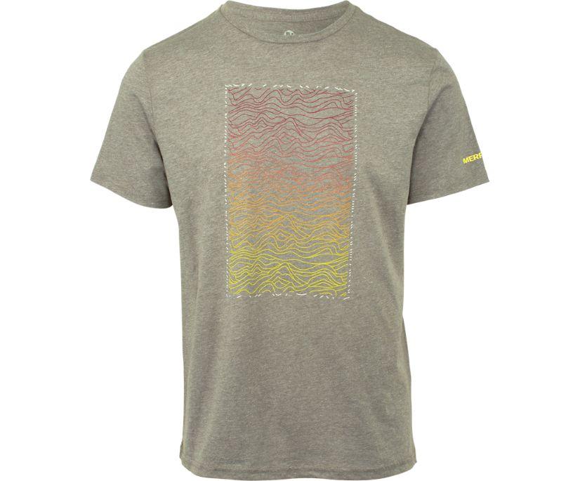 Hills Graphic T-Shirt, Grey Heather, dynamic