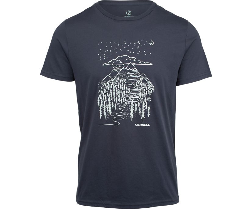 Wayfinder Graphic T-Shirt, Navy, dynamic