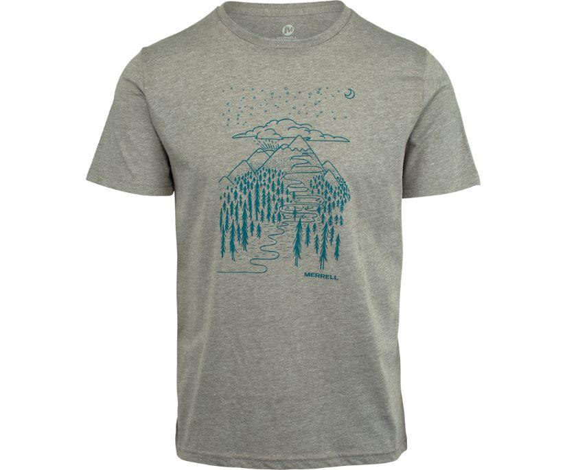 Wayfinder Graphic T-Shirt, Grey Heather, dynamic