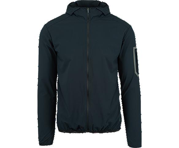 MQM Ultralite Insulated Full Zip Hoodie, Black, dynamic