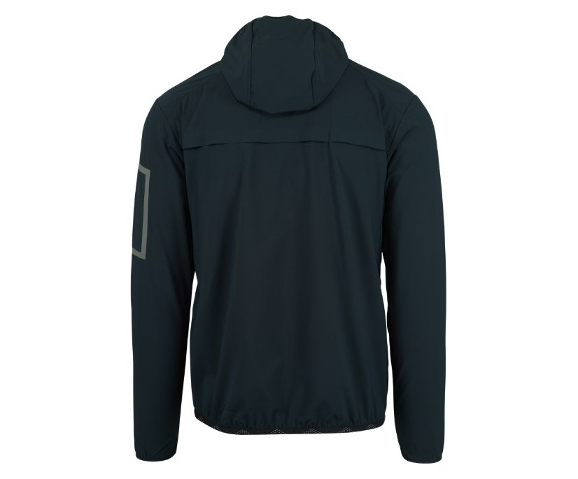 MQM Ultralite Insulated Full Zip Hoodie, Black, dynamic
