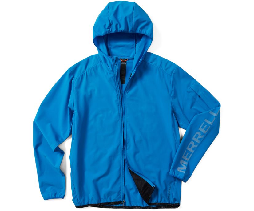 MQM Ultralite Insulated Full Zip Hoodie, Imperial Blue, dynamic
