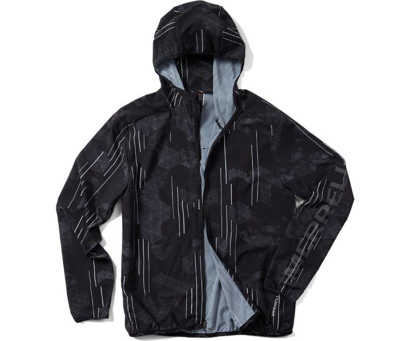 Ultralite Full-Zip Hoody, Black Print, dynamic