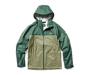 Fallon Rain Jacket, Kombu/Lichen, dynamic