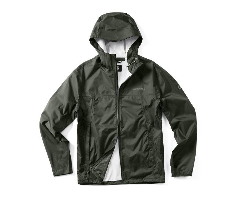 Fallon Rain Jacket, Pine, dynamic