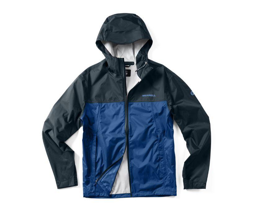 Fallon Rain Jacket, Navy/Blue, dynamic