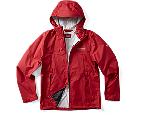 Fallon Rain Jacket, Chili, dynamic
