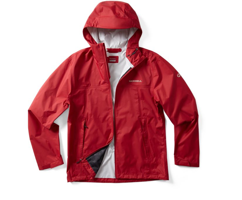 Fallon Rain Jacket, Chili, dynamic