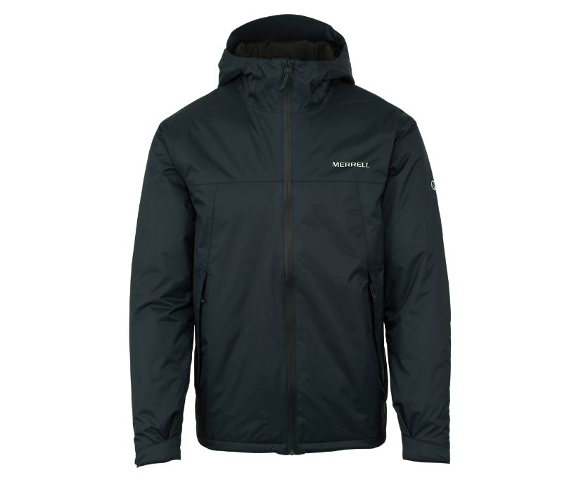 Fallon Insulated Jacket, Black, dynamic