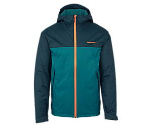 Fallon Insulated Jacket, Navy/Dragonfly, dynamic