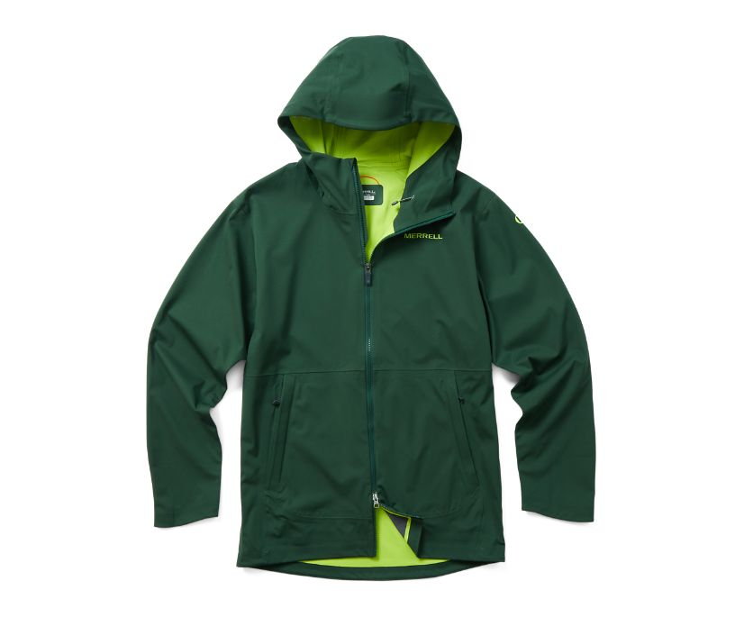 Whisper Rain Jacket, Forest, dynamic