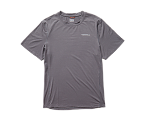 Tencel™ Short Sleeve Tee, Rock, dynamic