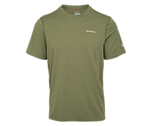 Tencel™ Short Sleeve Tee, Lichen, dynamic