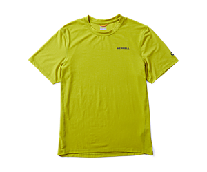 Tencel Short Sleeve Tee, Citron, dynamic