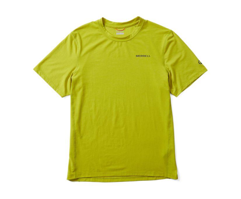 Tencel Short Sleeve Tee, Citron, dynamic